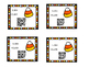 Halloween Addition Task Cards with QR Code