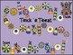 Hallowe'en Addition and Subtraction Board Games