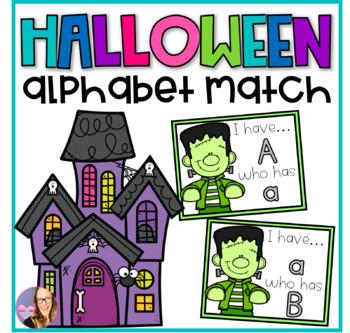 Halloween Alphabet Match