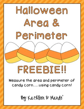 Halloween Area & Perimeter {FREEBIE}