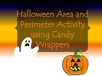 Halloween Area and Perimeter Activity