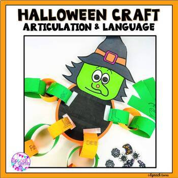 Halloween Articulation Pumpkin Craft