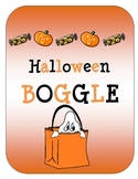 Halloween BOGGLE
