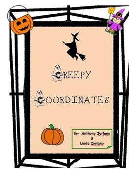 Halloween, Bat, Spider, Pumpkin, Coordinate Drawing & Grap