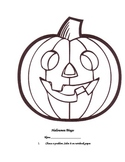 Halloween Bingo Review Activity