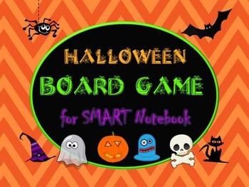 Halloween Board Game for SMART Notebook