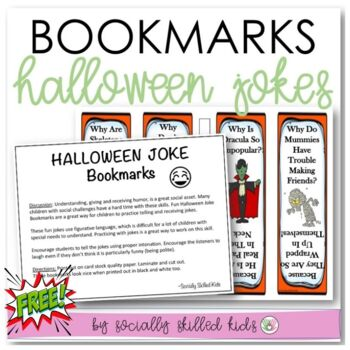Halloween Book Marks~FREE! {Using Figurative Language and
