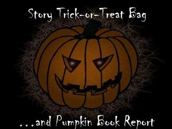 Halloween Book Report and Pumpkin Pro