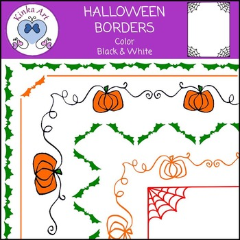 Halloween Borders