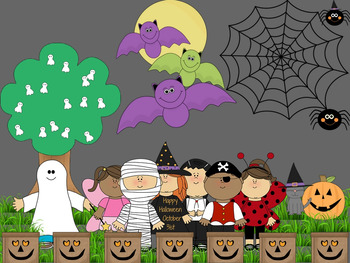 Halloween Bulletin Board - Digital