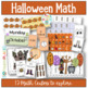Halloween Bundle - English, Math and a Reader