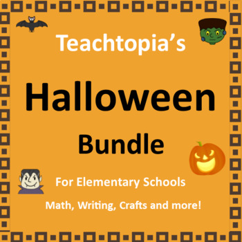 Halloween Bundle  for Halloween.  Includes Halloween Math,