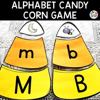 Halloween Activities - Candy Corn Game Initial Letter