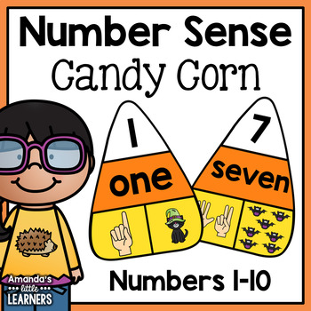 Number Sense Candy Corn