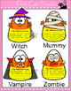 Halloween Activities Candy Corn Writing Activity and Bulle