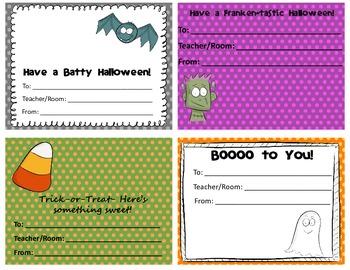 Halloween Candy Grams