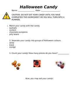 Halloween Candy Match