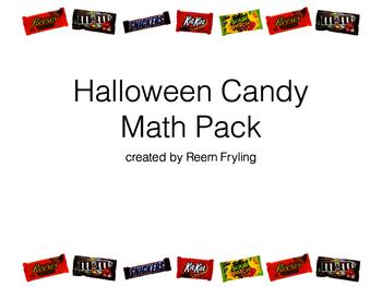 Halloween Candy Math Pack