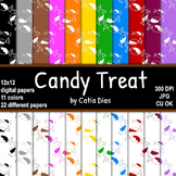 Halloween - Candy Treat - 22 Digital Papers