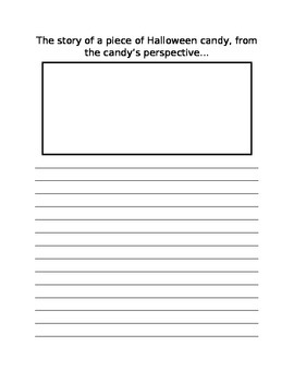 Halloween Candy Writing Prompt