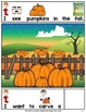Halloween Carve a Pumpkin -Adapted Book (PreK-2/ELL/Autism/SPED)