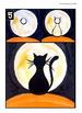 Halloween: Cat in the Full Moon