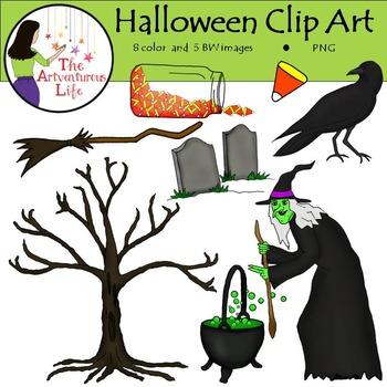 Halloween Clip Art FREEBIE