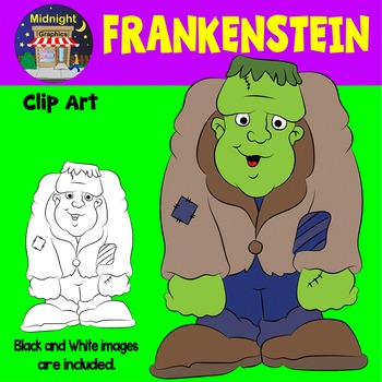Halloween Clip Art - Frankenstein