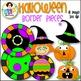 Halloween Clip Art - Halloween Border Pieces