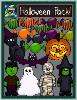 Halloween Clip Art - Pilly Pack