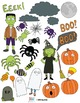 Halloween Clipart #1 – Spiders, Ghosts, & a Witch...Oh My!