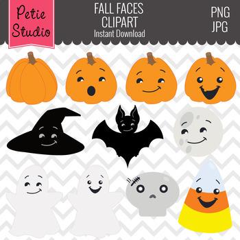 Halloween Clipart // Fall Clipart // Cute Halloween Expres