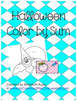 Halloween Color by Sum
