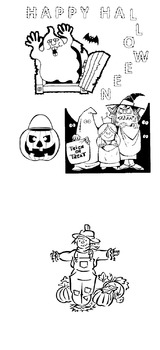 Halloween Coloring FREE Download