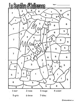 Halloween Colouring Activities and Haunted House Number Fu