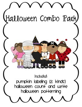 Halloween Combo Pack!