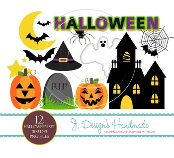 Halloween Commercial Use Clipart
