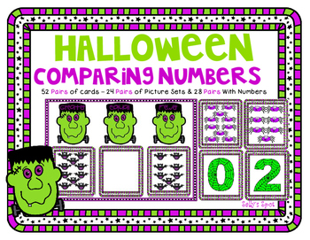 Halloween Comparing Numbers