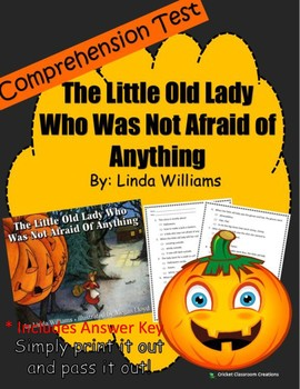 Halloween Comprehension Test: The Little Old Lady Who Was