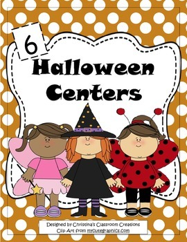 Halloween Centers: Math, Literacy, and Art Activities