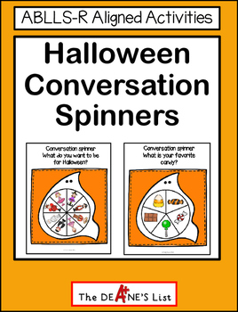 Halloween Conversation Spinners