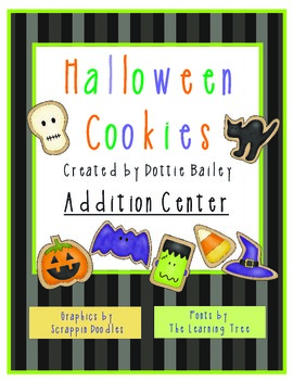 Halloween Cookies Addition Center