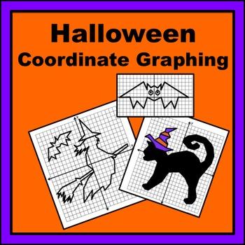 Halloween Coordinate Graphing