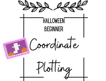 Halloween Coordinate Plotting