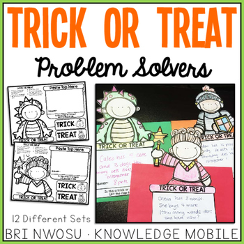 Trick or Treat Problem Solvers Craft