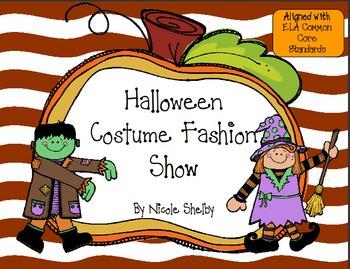 Halloween Costume Fashion Show Writing Activity