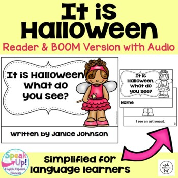 Halloween Costume Reader & Cut/Paste ~ It is Halloween. Wh