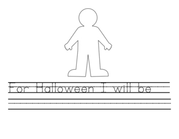 Halloween Costume Writing Prompt