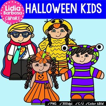 Halloween Costumes { Clip Art for Teachers }