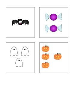 Halloween Count the Room 1-10